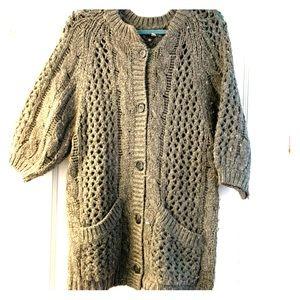 Joie Oversized Knit Cardigan